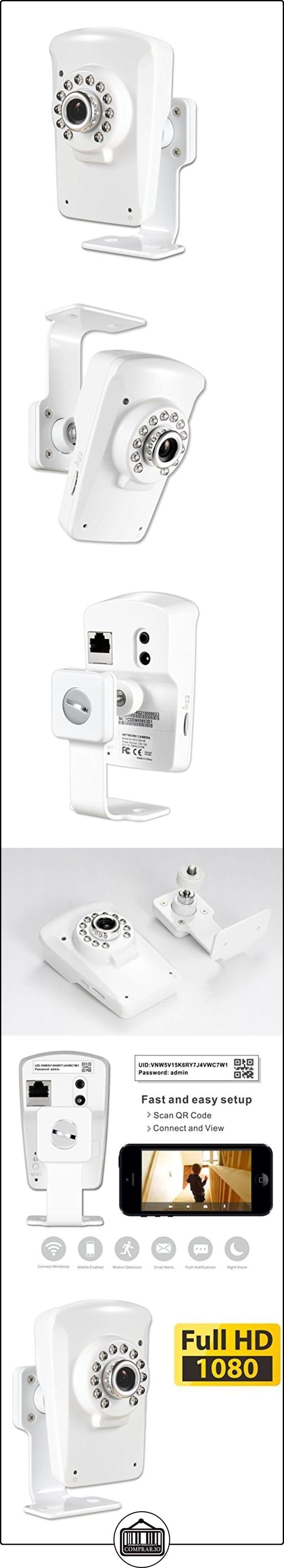PHYLINK Cube HD, inalámbrico IP cámara de seguridad WiFi, 1080p Full HD, visión nocturna por infrarrojos, integrado DVR ampliable a 128GB con reproducción remota, detección de movimiento, correo electrónico Alert, aplicaciones gratuitas para iOS/Android dispositivo, ideal como monitor en casa o vídeo Baby Monitor  ✿ Vigilabebés - Seguridad ✿ ▬► Ver oferta: http://comprar.io/goto/B00Q9J8CPQ