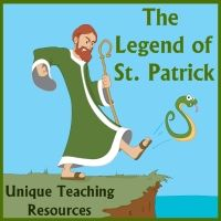 Read about the legend of St. Patrick and him driving the snakes out of Ireland.