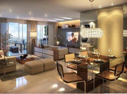 #474350 decoração de sala de estar e tv dois ambientes Pesquisa Decoração sala  406x300 píxeis em Ambiente Moderno Descolado Sala Estar Jantar