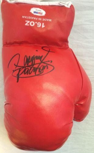Manny Pacman Pacquiao Signed Red 16 oz. Boxing Glove COA Y85622 - PSA/DNA Certified - Autographed Boxing Gloves @ niftywarehouse.com