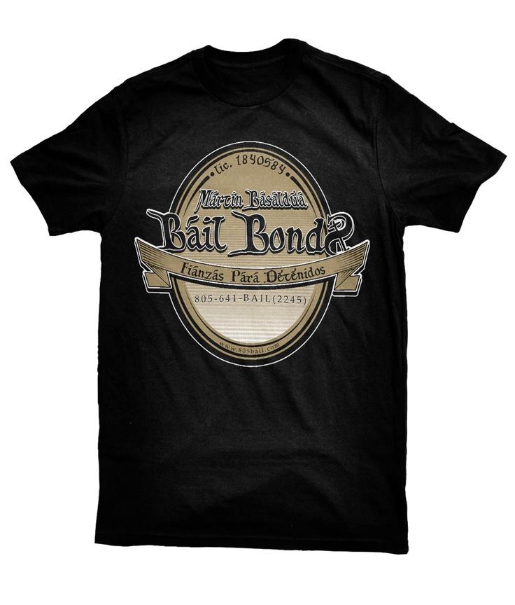 Winning design for bail bonds t shirts t shirt design for Dc t shirt design