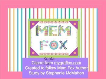 FREE-Koala Lou by Mem Fox PowerPoint to follow the Free Koala Lou pack. The Lou is also not beneath Koala in the download. :)