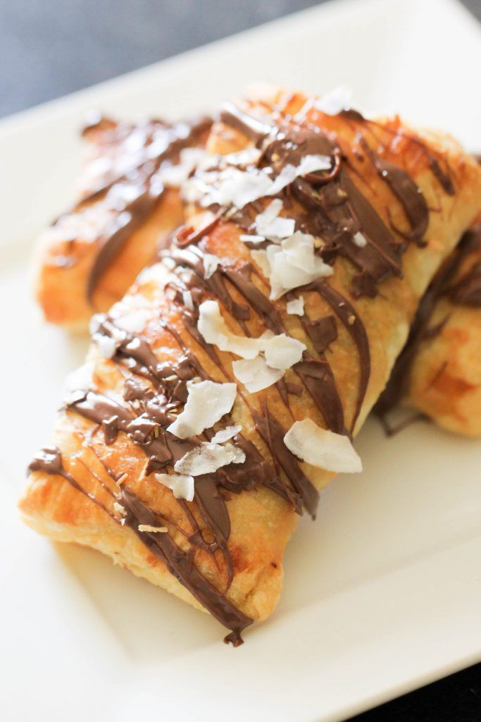 Nutella Banana Coconut Hot Pockets   Six Sisters' Stuff