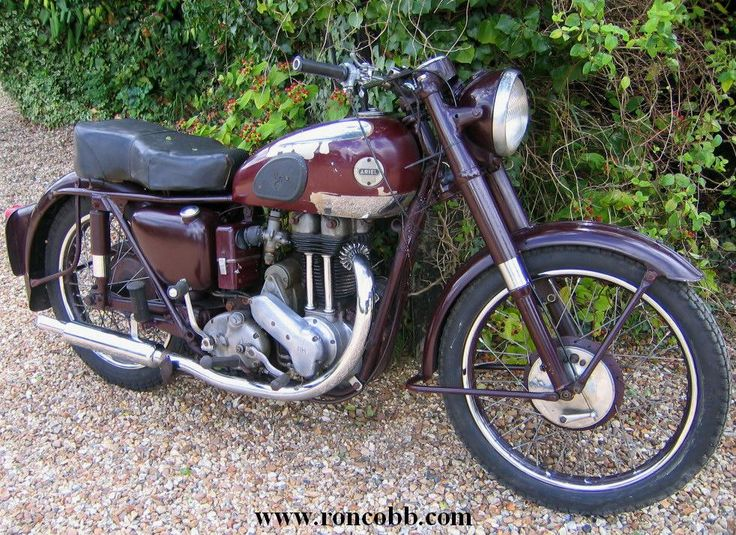 antique motorcycles for sale | 1954 Ariel NH 350cc Red Hunter Classic motorcycle for sale