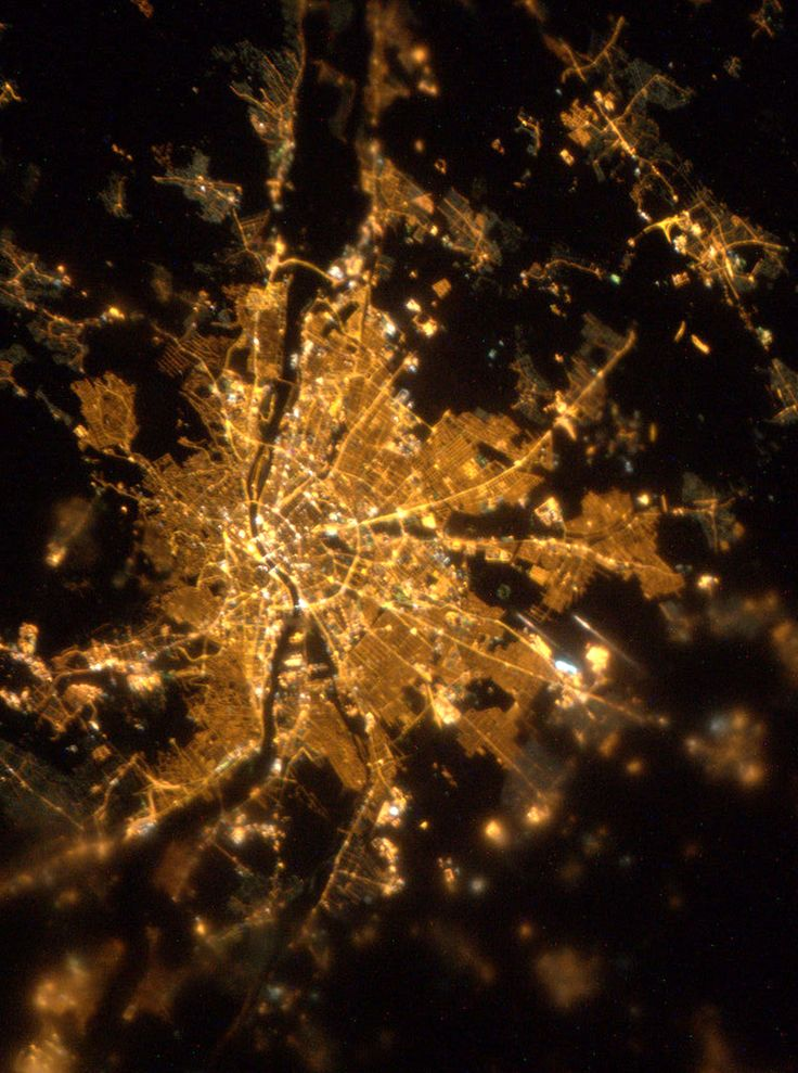 Budapest from Outer Space!