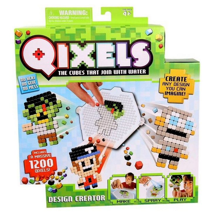Qixels Design Creator, Create Your Own Kit