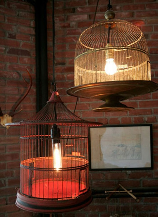 Bird Cage Lighting Fixtures.