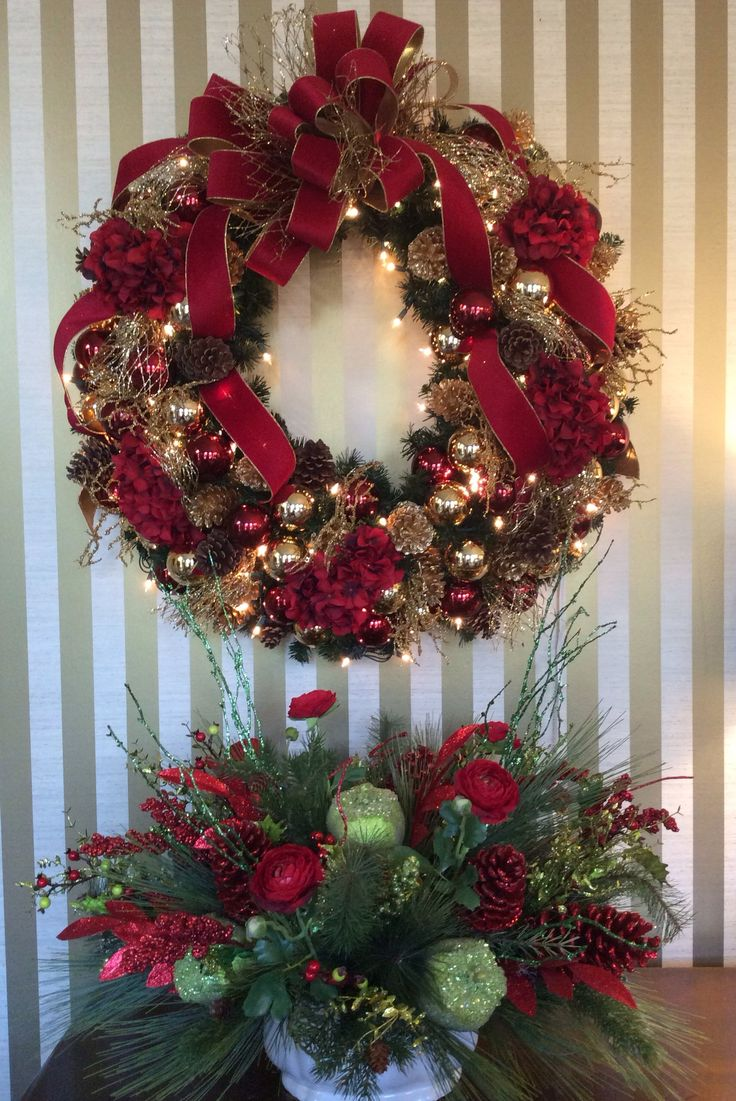 17 Best images about X MASWINTER WREATH2 on