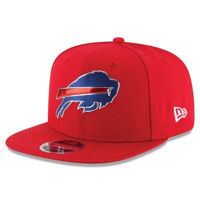 Buffalo Bills New Era Kickoff Baycik 9FIFTY Snapback Adjustable Hat - Red