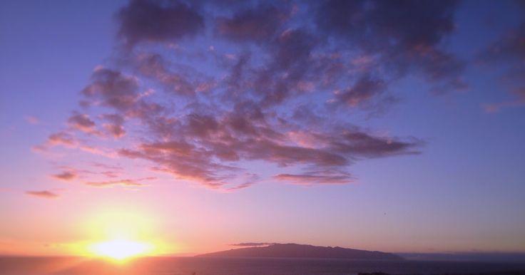 La Gomera and the sky.