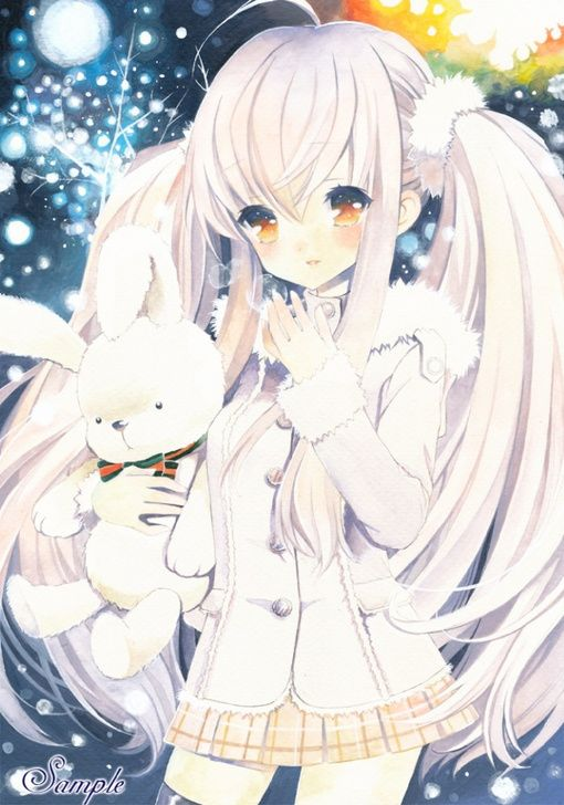 Anime Girl In All White Anime Girl 165 176 165 Pinterest