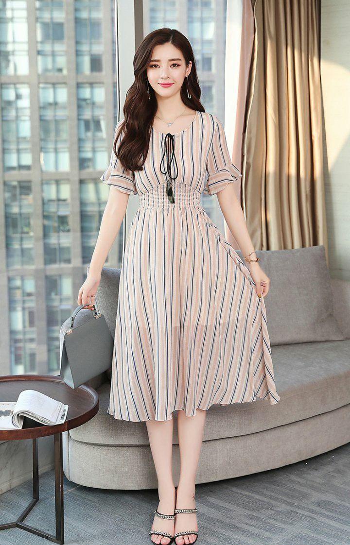 Korean Summer Fashion Korean Fashion Summer Dresses Summer Dresses For Women Korean Fashion Dress [ 1122 x 720 Pixel ]