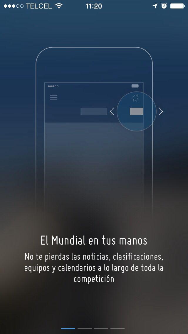 FIFA World Cup 2014 app intro looks neat