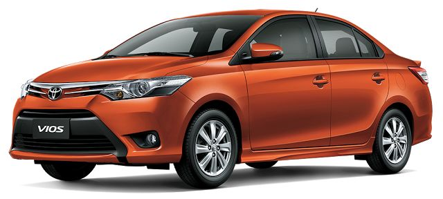 New Toyota Vios Spotted Testing