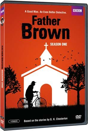 """""""Father Brown"""" Father Brown: Season 1 at BBC Shop Don't be fooled by the slightly crumpled, mild-mannered priest in the picture- perfect village of Kembleford. Father Brown's compassion and understanding help him see into the hearts of people on both sides of the law, while his playful wit and razor-sharp mind surprise thieves and murderers who underestimate their gentle opponent."""