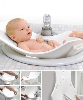 Bañera para bebés plegable