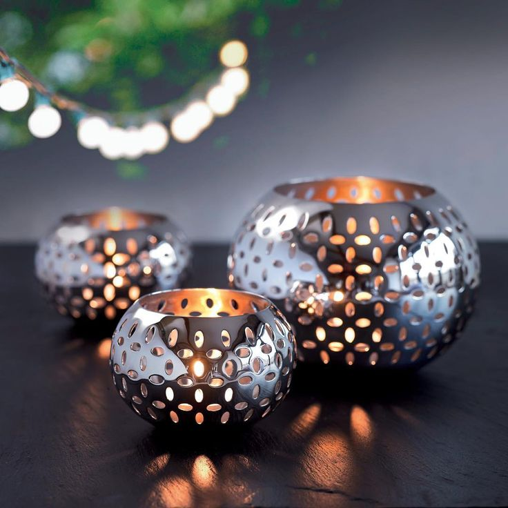 THINGS WE LOVE | Sesame tea lights allow a beautiful play of light and create a warm inviting atmosphere. A great addition to any home this Christmas time! #robertwelch #interiors #candle #candlelight #beautiful #design #christmas #decorations #giftideas #photooftheday #love #advent