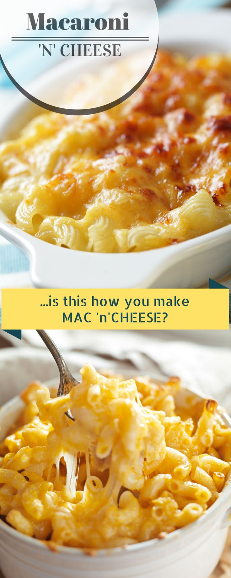 Just THE BEST Macaroni and Cheese EVER! Is this how you make your Mac & Cheese. Pin and compare. #recipe #Macandcheese #macaroniandcheese