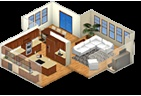 Allows you to put your room/home dimensions in and virtually design your furniture, paint, and just about every aspect of your home and see it in 3d
