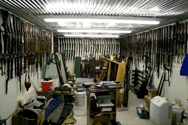 Gun safe room layout safe rooms pinterest guns for Gun vault room