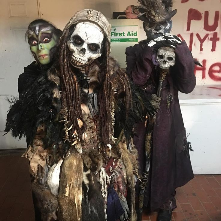 Inspiration & Accessories: DIY Witch Doctor Halloween Costume Idea