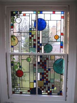 Art Deco Stained Glass Patterns transoms | Click here for more information about Art Deco/1930′s Stained Glass