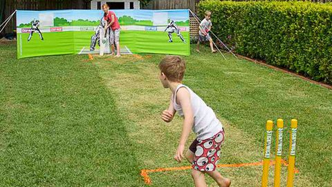 How to make a cricket pitch (in your backyard): Now your green's looking all spick-and-span, is anyone up for a game of cricket? It's easy to build your own pitch, and once the season's over, you won't even know it was there.