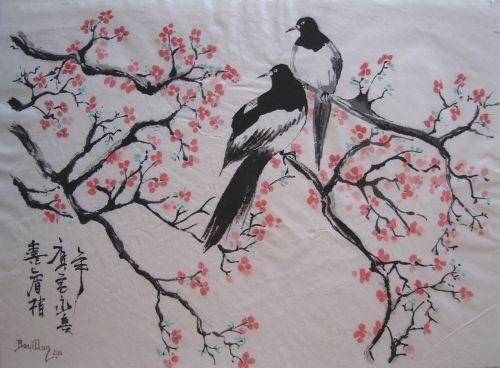 oiseaux-et-cerisier-en-fleur_500x500.jpg (Image JPEG, 500×368 pixels)
