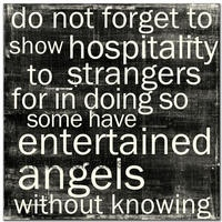 angels: Entertained Angels, Hebrews 13 2, Inspiration, Quotes, Faith, Entertaining Angels, Thought, Bible Verse