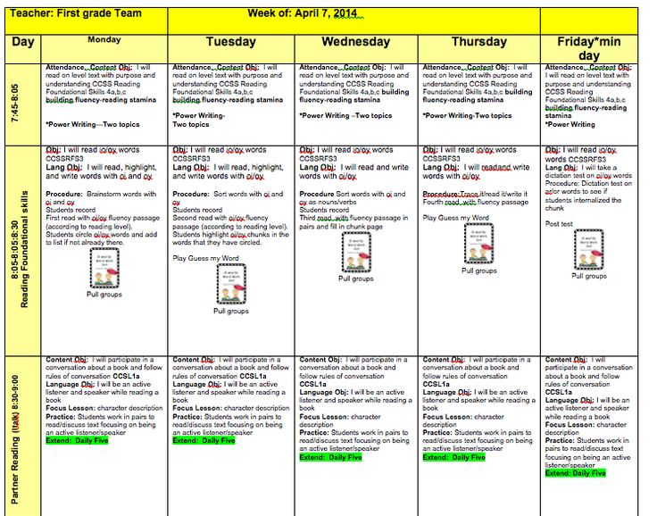 13 best images about lesson plan templates on pinterest