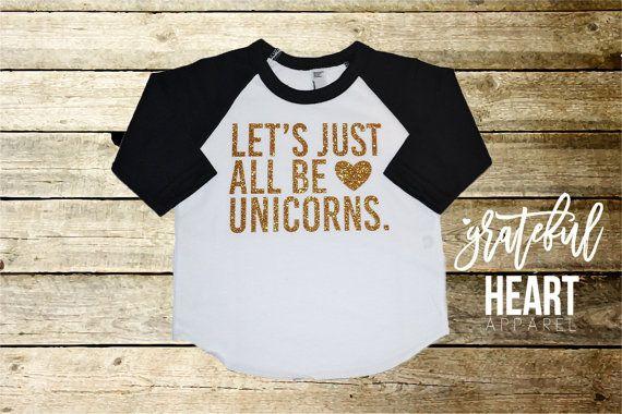 Licorne chemise t-shirt de la Licorne par Gratefulheartapparel