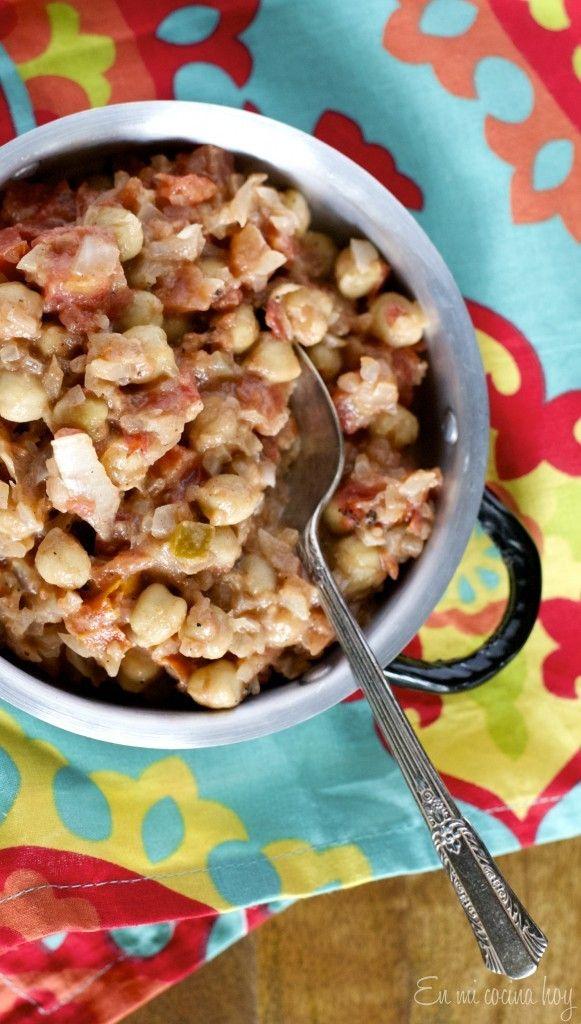 Chickpea Curry - En Mi Cocina Hoy Curry de garbanzos