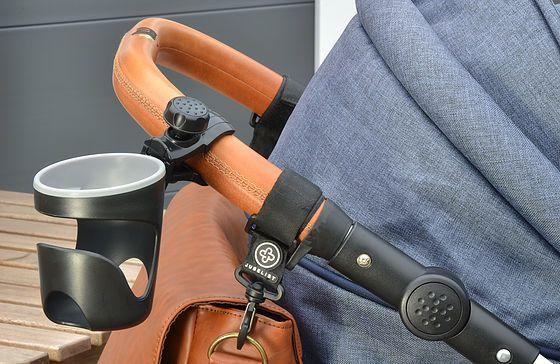 JUBELIST Getränkehalter Cup Holder für Kinderwagen