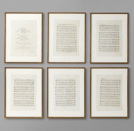 I love the sheet music idea.  May have to do an arts and craft version of my favorite Chopin!