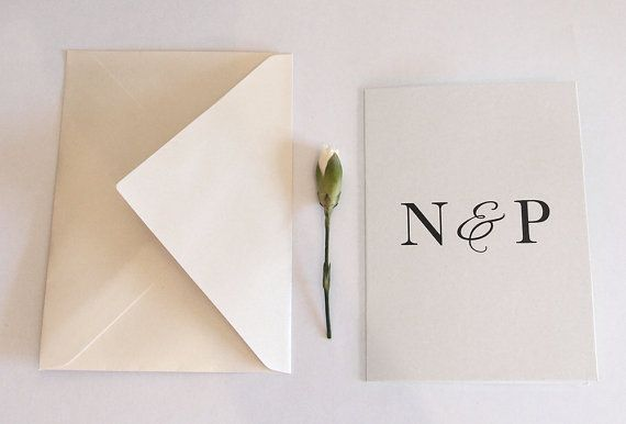 An elegant way to say congratulations to the happy couple. #etsy #etsyau #card #wedding #engagement
