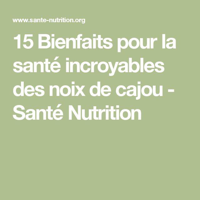 15 Bienfaits pour la santé incroyables des noix de cajou - Santé Nutrition