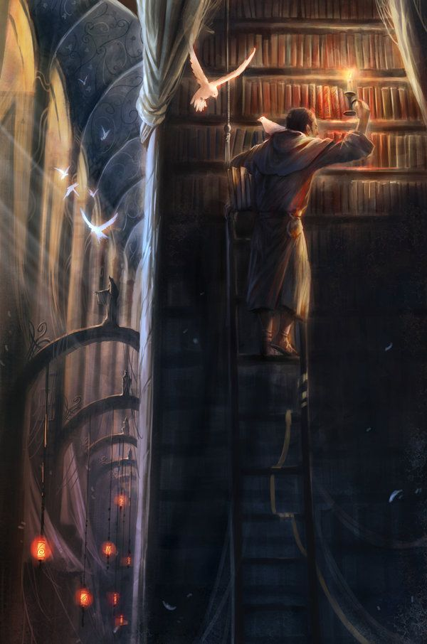 [Fantasy Artwork by Jian Guo | Cuded]