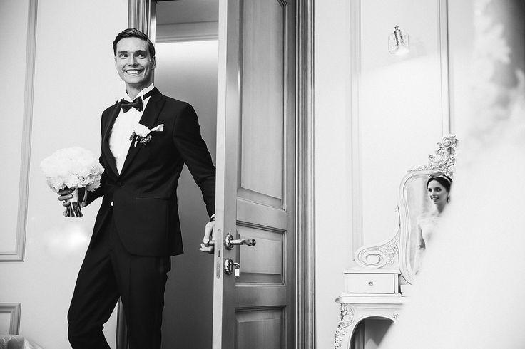 Снять реакцию жениха и невесты при встрече и попробовать это совместить. Свадебный фотограф Слава Семенов (ctapocta). Фотография от 20.07.2016