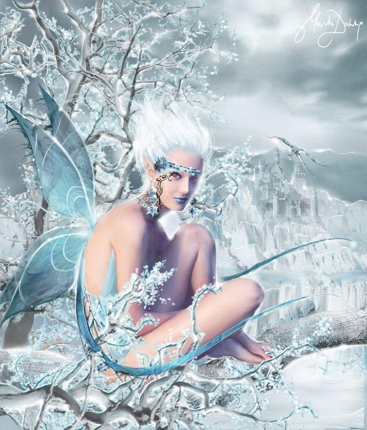Снежный эльф картинка для детей