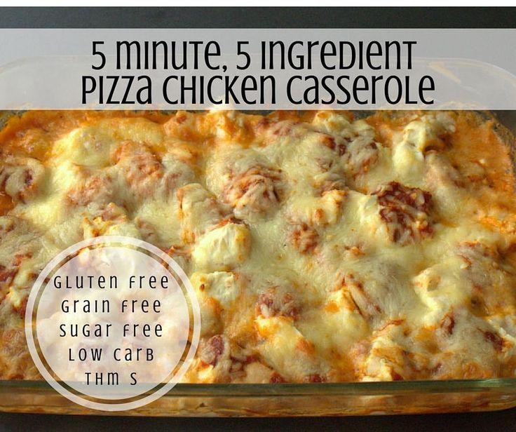 My Pizza Chicken Casserole combines creamy casseroles with chicken parmesan. It…