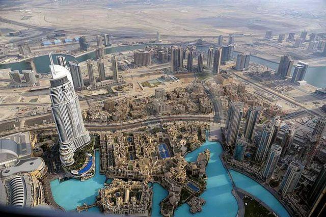 """FACEBOOK = Luxusfirmen.com 30 janeiro 2015   -Die höchste Aussichtsplattform der Welt – Im """"Burj Khalifa"""" in 555 Metern Höhe über Dubai"""