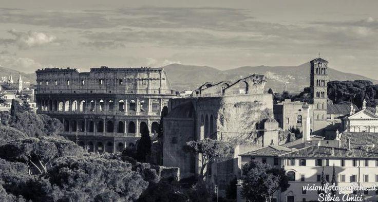Panorama di Roma | Visioni Fotografiche Rome view #photography #landscapes #Rome #Roma