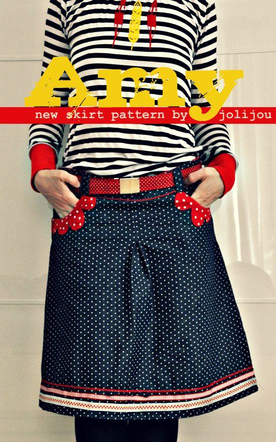 great skirt pattern by @Andrea / FICTILIS / FICTILIS Mueller Jolijou