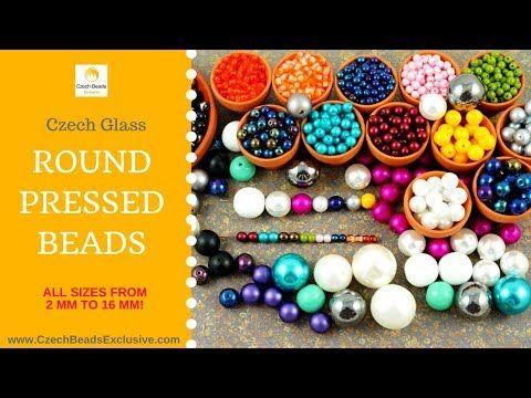 Video! DRUK Pressed Round Czech Glass Beads - New Arrivals + In Stock Beads     #dawanda #dawanda_de #dawandashop #etsy #etsyshop #etsystore #etsyfinds #etsyseller #amazon #amazondeals #alittlemercerie  #druk #round #roundbeads #pressed #pressedbeads #czechbeads #glassbeads #czechglassbeads #czechglassjewelry
