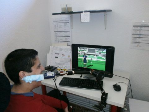 Student designs soccer video game adapted to people with cerebral palsy, August 26, 2014 Asociación RUVID. A soccer game adapted for people with cerebral palsy has been designed that is operated with a foot switch, a push rod head switch and a hand switch. A new tool allows any player to have equal access with different physical conditions.
