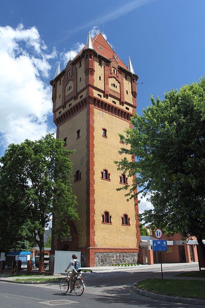 Wieża ciśnień w Kościanie wybudowana w 1908 roku. Obecnie w wieży znajduje się taras widokowy, obserwatorium astronomiczne i wieża wspinaczkowa.