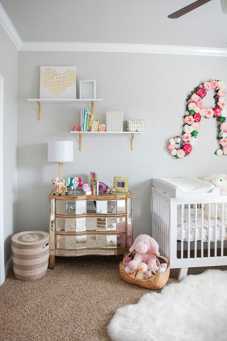 Ideas for baby girls room