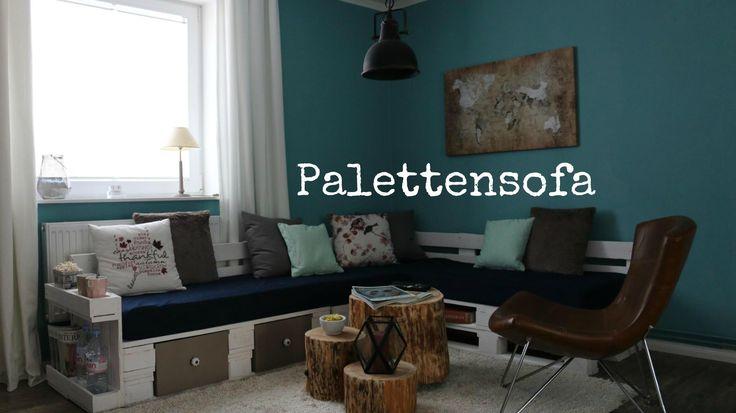 palettensofa wohnen diy pinterest paletten couch sofa aus europaletten und selber bauen. Black Bedroom Furniture Sets. Home Design Ideas