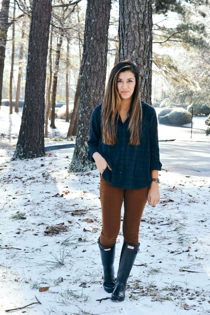 Flannel and Cords | A Glimpse of Glam