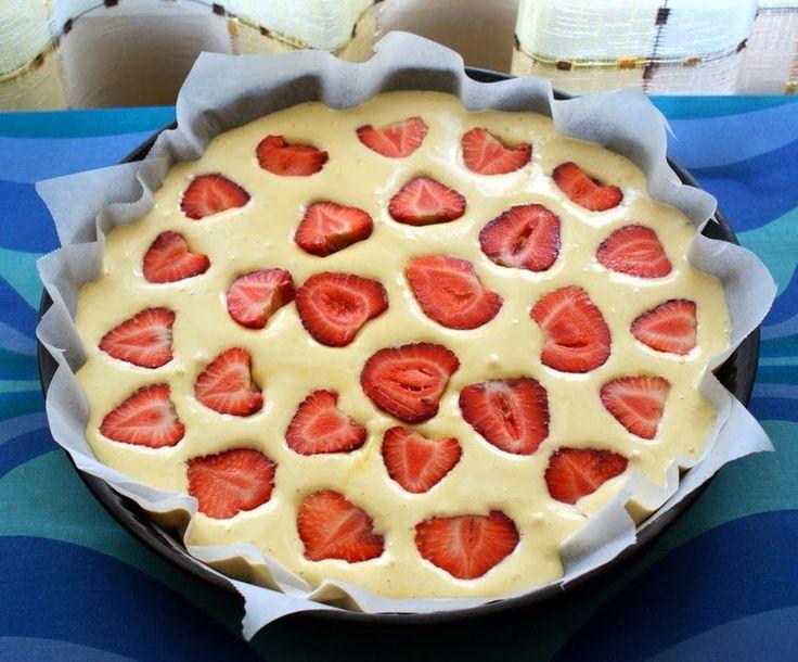 Ciasto tak szybkie, że hej..! - Ciasta ciasto,truskawki - kobieceinspiracje.pl